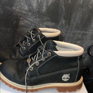 Timberland Waterproof Black Leather 8.5 Women
